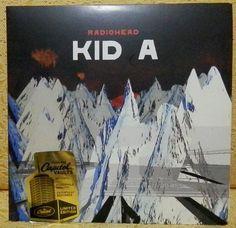 "Radiohead - Kid A (2 x 10"" LP)"