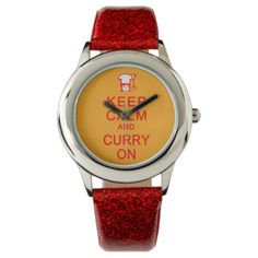 Keep Calm & Curry On watches