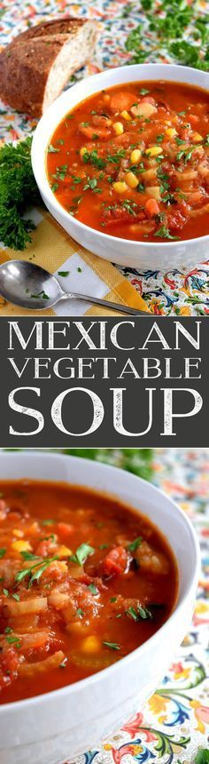Mexican Vegatable Soup
