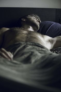 Because nights are when Fitz's ghosts come out to haunt him, ROAD gives us a lot of scenes with Fitz in bed.