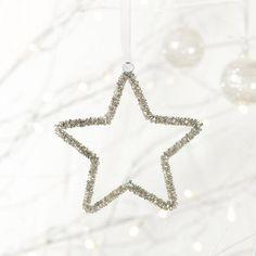 Beaded Star - Small | The White Company #whitechristmaswishlist