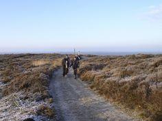 2013-01-13  Enkele amazones met paard gaan liever wandelen vanwege de kou