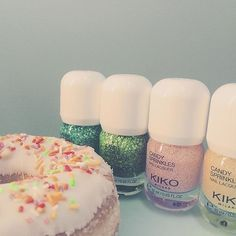 Give your #nails a little sugar like @beibi_moments and discover the all new #KikoMilano Candy Nails range  We can't wait to see your #nailart #Kikotrendsetters #beautylook #instabeauty #makeup #beauty #smalti #naillacquer #CandyNails