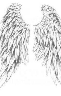 Tribal Tattoos Of Angel Wings More Great Angel Wings Tattoo. Tattoo Mbois Cross With Angel Wings Tattoo. Neck Tatto, Tattoos Skull, Feather Tattoos, Foot Tattoos, Body Art Tattoos, Small Tattoos, Sleeve Tattoos, Animal Tattoos, Tatoos