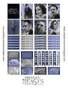 CDB Planner Prints: Fantastic Beast