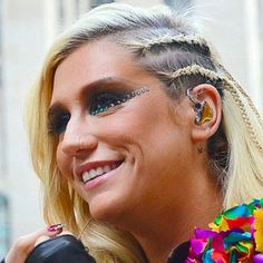 Singer Ke$ha said she was proud to hear Obama talk about gay rights at his inauguration, and that she wanted to kiss him, because those were issues 'close to her heart'.