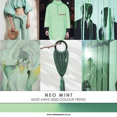 ambergrant.co.za2020 Must Have Colour Forecast: Neo Mint