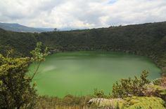 Laguna Guatavita, Colombia.