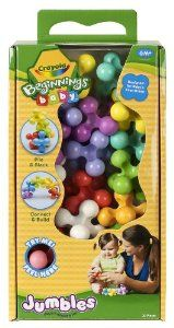 Amazon.com: Crayola Beginnings Baby 20ct Jumbles: Toys & Games