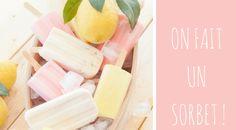On fait un sorbet ! - One pretty life Sorbet, Honeydew, Pineapple, Menu, Fruit, Pretty, Food, Life, Wish