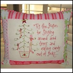 Stitchery Pattern -this is just my style!!!  hehehe