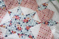 hand quilting on swoon - pretty!