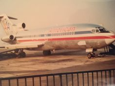 American Airlines 727-100 Ontario Airport