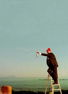 The Life Aquatic with Steve Zissou.