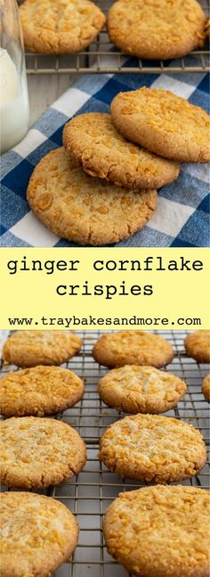 Tray Bake Recipes, Easy Baking Recipes, Retro Recipes, Cereal Recipes, Cookie Recipes, Bar Recipes, Yummy Recipes, Savoury Biscuits, Homemade Biscuits