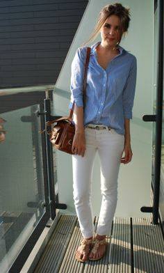 shirt and jeans