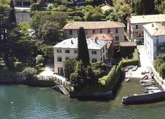 "GEORGE CLOONEY'S HOUSE ""VILLA OLEANDRO"" ON COMO'S LAKE IN LAGLIO, ITALY   ©ELIOT PRESS/BAUER-GRIFFIN"