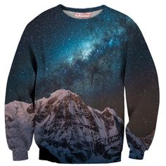 Snowy Galaxy Sweatshirt