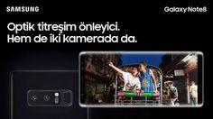Samsung Galaxy Note8'in her iki kamerasında da bulunan Çift OIS ile en hareketli anlarda bile mükemmel fotoğraflar yakalayın!