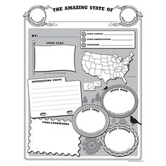 AMAZING STATE POSTER PACK