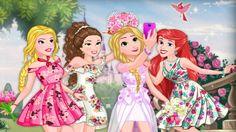 Em Princesas Disney Festa de Noivado, cMas antes da festa começar ela e as outras princesas: Bela, Ariel e Aurora precisam um lindo e fashion visual para arrasar na festa. Divirta-se com as Princesas Disney!