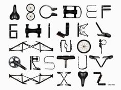 bicycle font.
