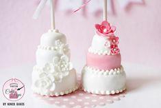 {Anleitung} Etwas Besonderes für alle Brautpaare: 3 stöckige Hochzeitstorten Cake Pops | niner bakes