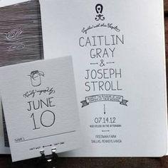Resultado de imagem para wedding invite minimalist