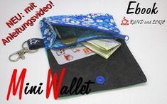 MiniWallet Ebook | Etsy Reißverschluss-Münzfach, Scheckkartengröße, Hosentaschen-Geldbeutel, Nähanleitung, Schnittmuster, nähen Coin Purse, Purses, Wallet, Etsy, Personalized Items, Mini, Book, Small Purses, Fabric Remnants