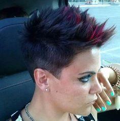 Short hair;~)