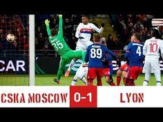 CSKA Moscow vs Lyon (0 - 1)  08/03/2018