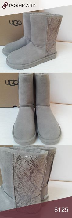 I just added this listing on Poshmark: New UGG Classic Short Metallic Snake boots. Ugg Sale, Uggs On Sale, Bearpaw Boots, Ugg Boots, Rain Boots, Snake Boots, Ugg Classic Short, Boot Brands, Snake Print