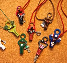 TEAM CONCEPT Roller Derby Team necklace, Design CONSULTS skate key tool, fund raising