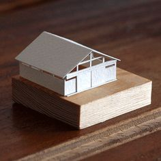Paperholm: a growing, tiny, adorable paper model city by Charles Young