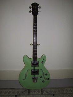 1967 Guild Starfire IV Bass
