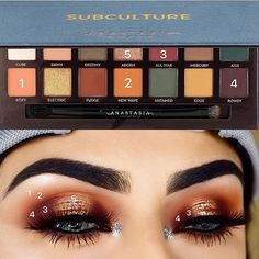 @anastasiabeverlyhills Subculture Palette (Roxy, New Wave, All Star, Rowdy, Adorn)