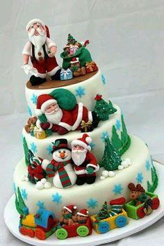 christmas cake Inspirations 24