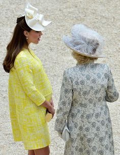 Kate Middleton e Camilla (Foto: AP)