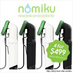 Awesome deal on a wi-fi sous vide machine #nomiku