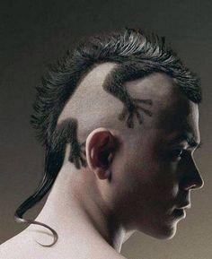 mens hair- unique- textured- thick hair
