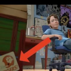 Even Andy (Toy Story) is a CLEMSON fan!!