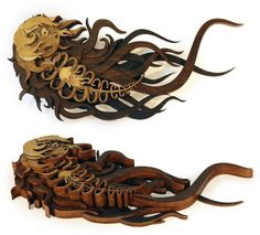 Amazingly Detailed Illustrations Transformed Into Laser Cut Wood Designs - My Modern Met