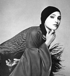 benedetta barzini photographed by barbieri for vogue, 1965