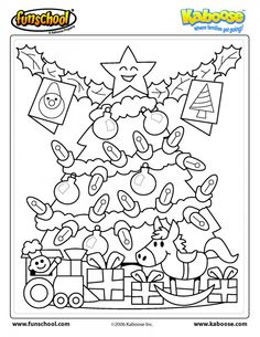 {The Organised Housewife} Christmas Colouring Pages