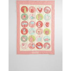Red Envelope Baby Alphabet Quilt Hayden Christmas List