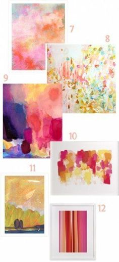 Lots of great choices for Large Pink Abstract Art on