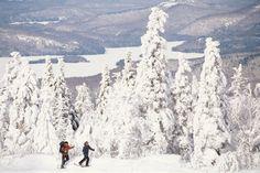 Romantic Winter Getaways at Ski Resorts: Mont Tremblant, Canada Province Du Canada, Romantic Winter Getaways, Ski Weekends, Winter Activities, Outdoor Pool, Quebec, Weekend Getaways, Kayaking, Skiing