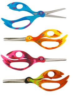 Cute and fun shears designed by Marie-Gabrielle Verdoni, found at the quirky online shop Pylones