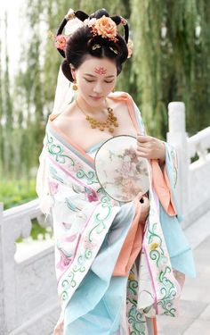 Japanese Wedding Kimono, Oriental Dress, Warrior Girl, China Girl, Chinese Clothing, Historical Costume, Hanfu, Lolita Dress, Asian Style