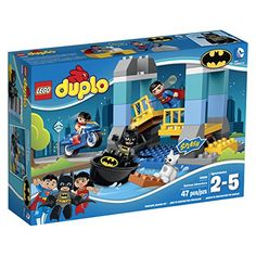 Team up with BatmanTM SupermanTM and Wonder Woman to save the day in Gotham City! They are on a mission to rescue a cat that has fallen from a bridge. First help Superman swoop in to lift the heavy b...